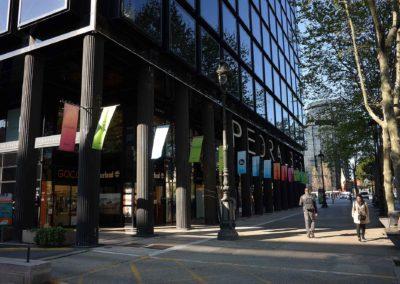 Zvýraznění obchodního centra a jeho značek